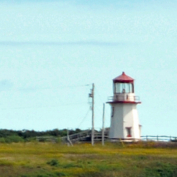 The Cap-blanc Lighthouse